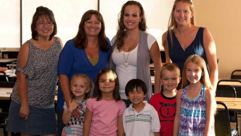 Gregory Family Child Care Students go from Diapers to Diplomas