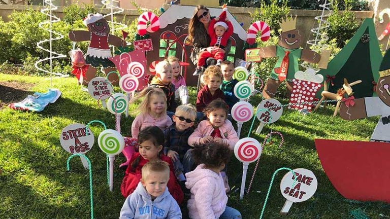 Santa's Arrival Highlights Christmas Party