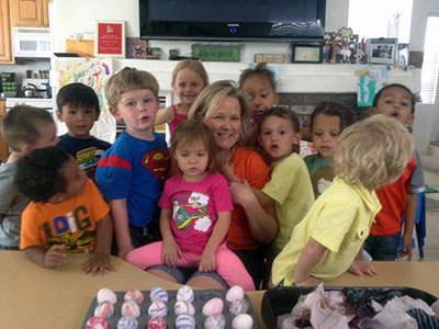 M'Lissa and the Children from Gregory Family Child Care