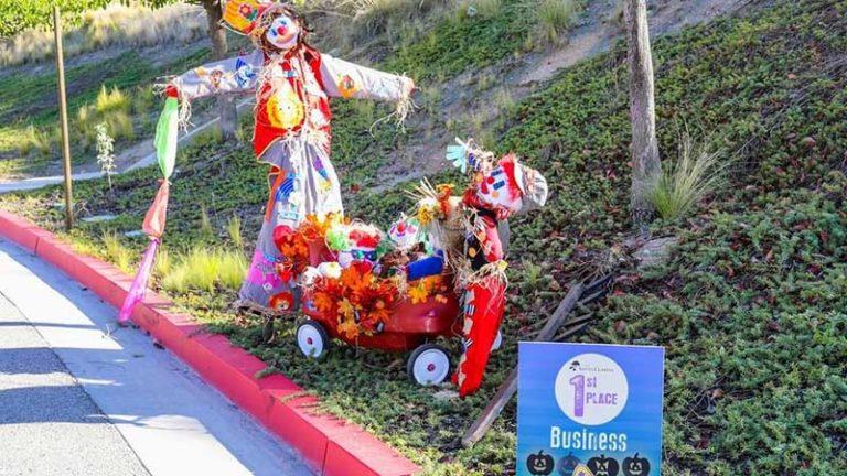 Scarecrow Contest Winner in City of Santa Clarita