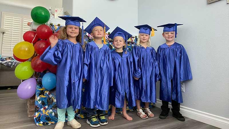 Children Move on to Kindergarten