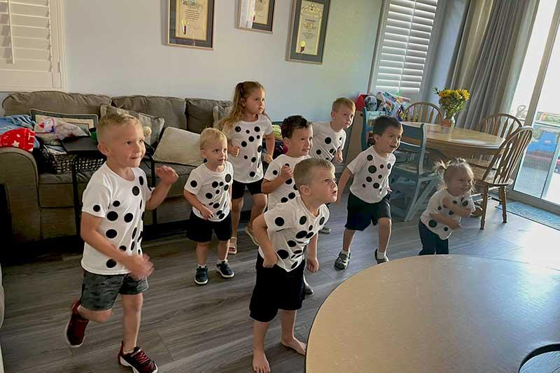 Dalmation Kids Dancing