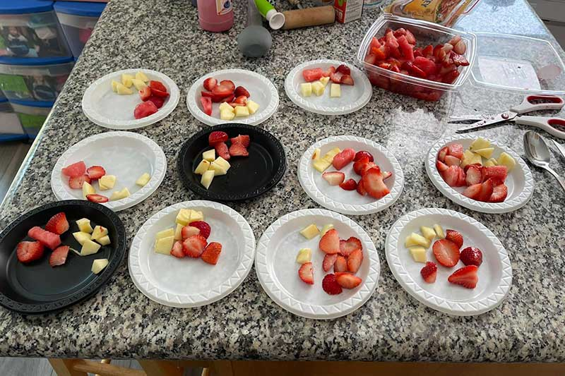 Healthy Fruit Meal