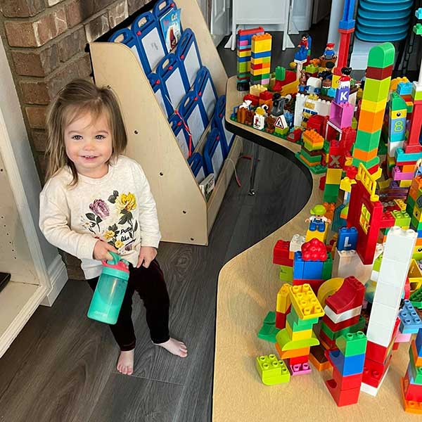 Lego Builder Lily