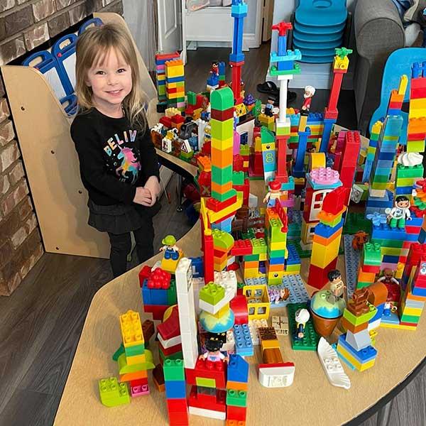 Lego Builder Violet