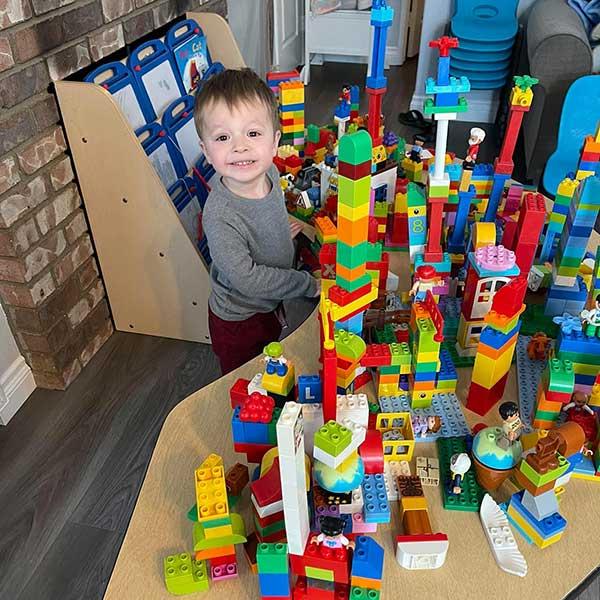 Logan Loves Legos