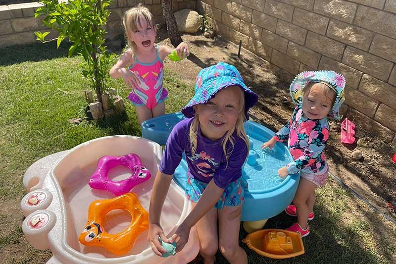 Outdoor Water Play